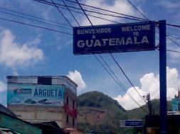 Frontera de Mexico con Guatemala