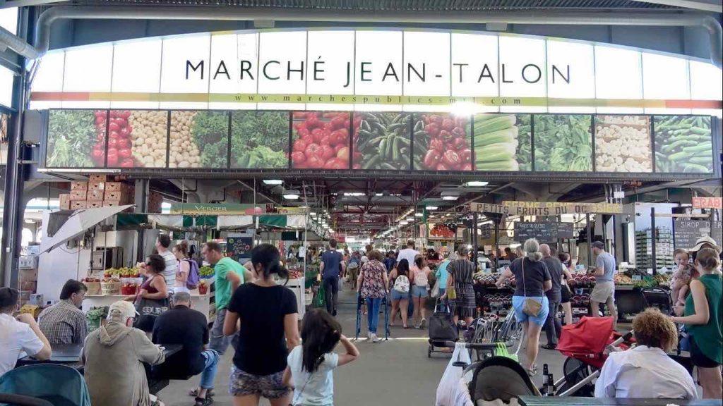 Mercado Jean Talon Montreal