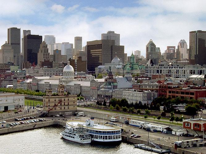 Ciudad Vieja de Montreal