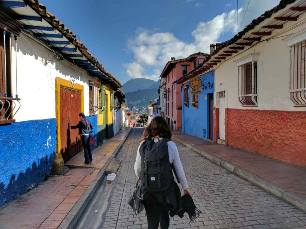 barrio de La Candelaria Bogota