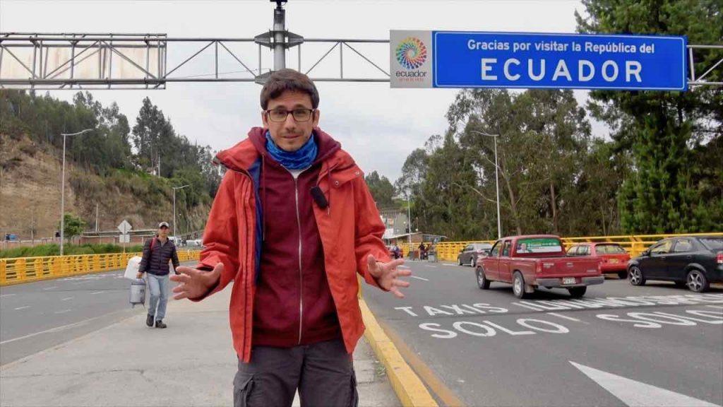 como cruzar la frontera de Colombia Ecuador