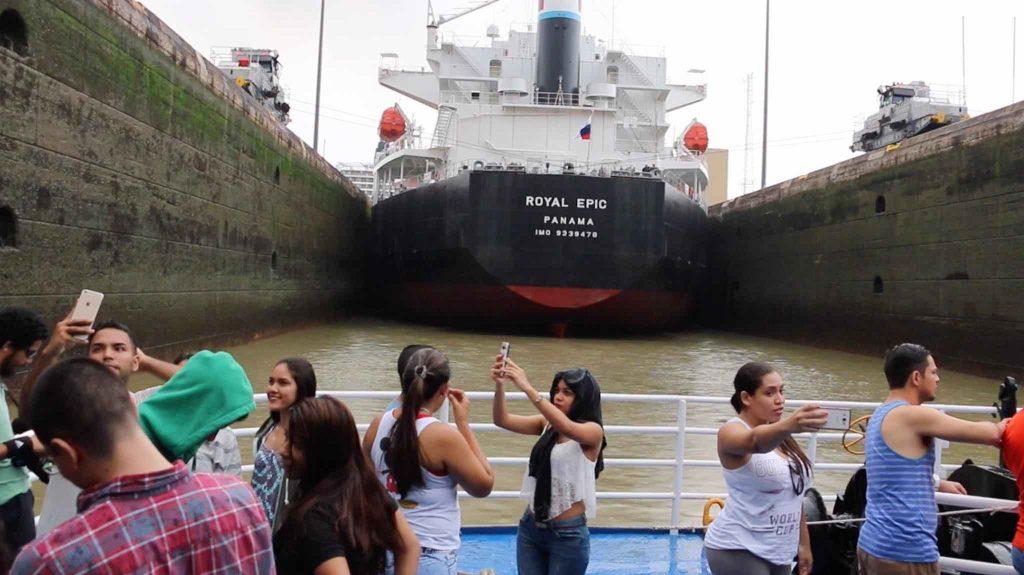 Transito Canal de Panamá