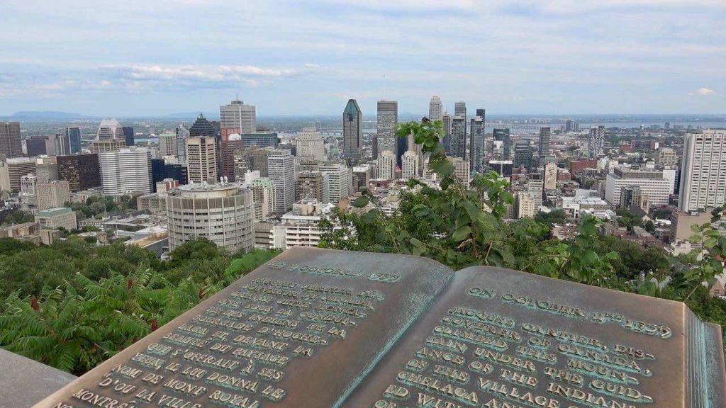 cataratas del Niágara desde Montreal