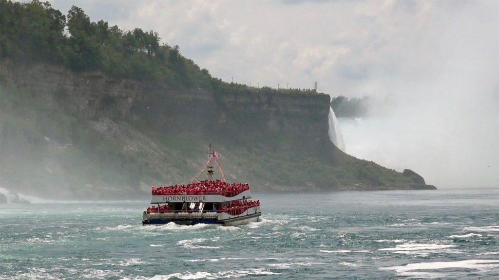 Barco cataratas del Niágara