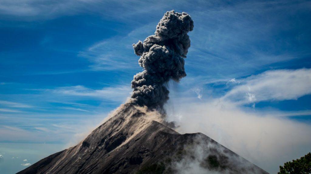 Volcanes activos de Guatemala