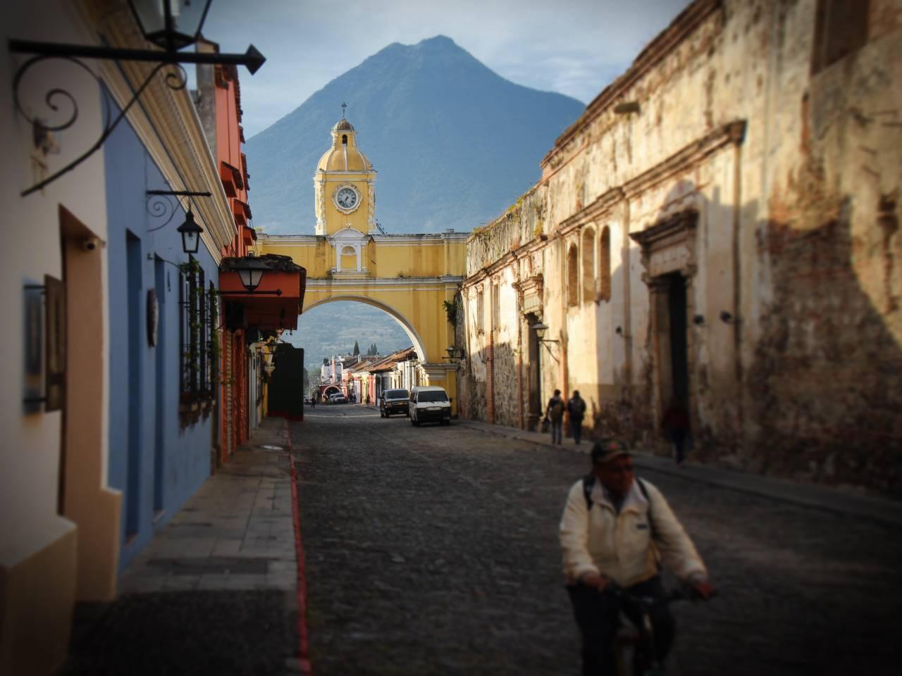 CIUDAD COLONIAL DE ANTIGUA GUATEMALA