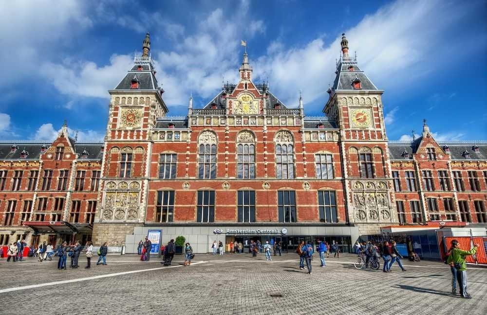 como ir del aeropuerto al centro de Ámsterdam