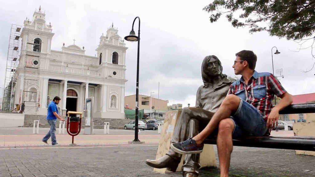 Jonh Lennon en Costa Rica