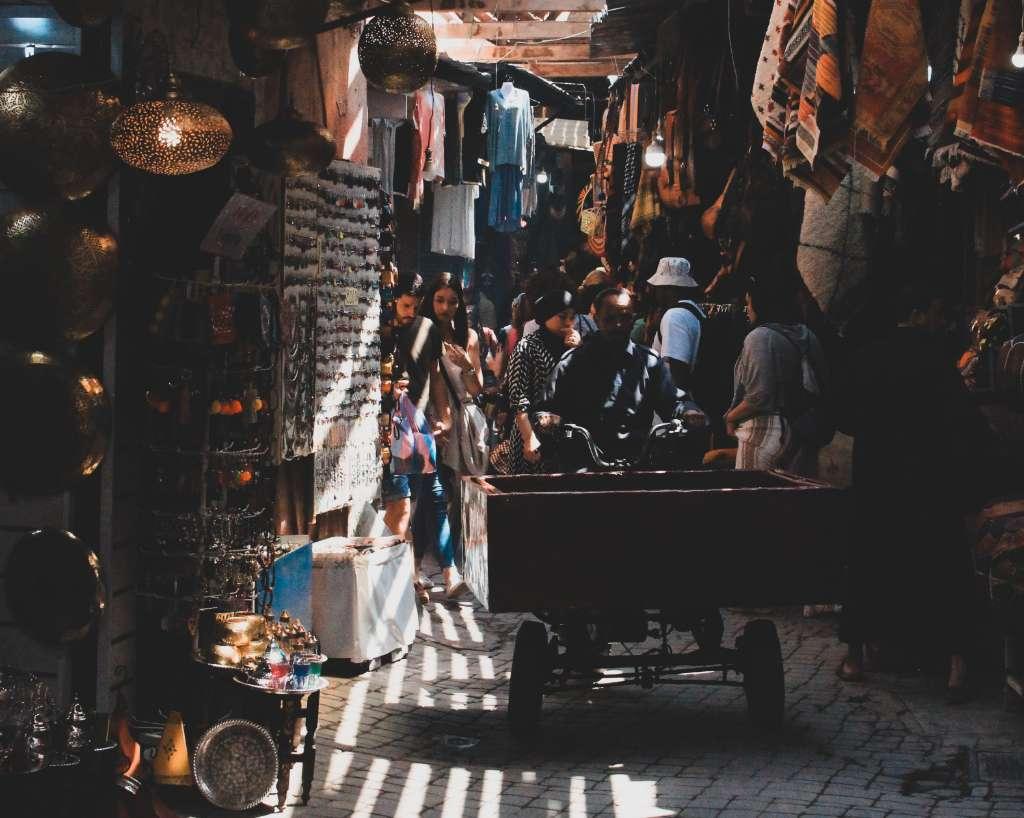 seguridad en Marrakech, Marruecos
