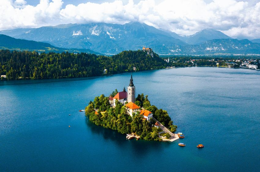 Lago de Bled Eslovenia