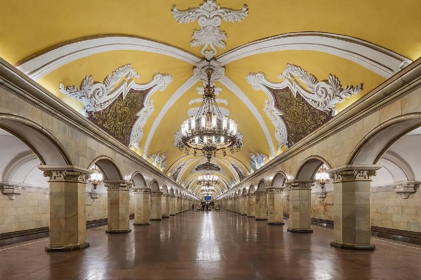 transporte publico en Moscú