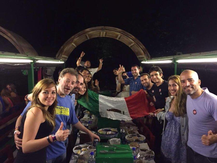 fiesta en xoximilco